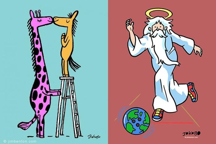 9непредсказуемых комиксов для тех, кто умеет посмеяться над собой