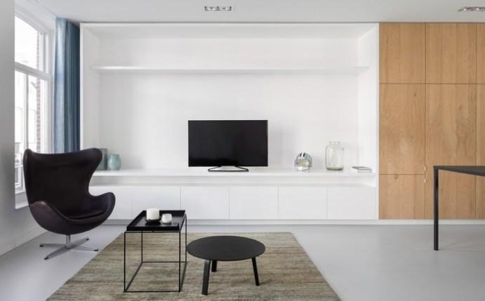 Интерьер квартиры в центре Амстердама