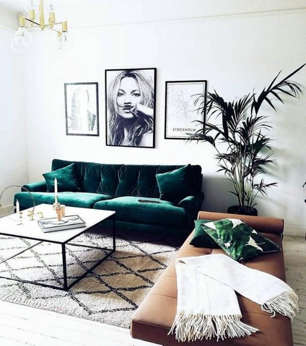 19 современных гостиных, поражающих своей атмосферой и уникальным дизайном