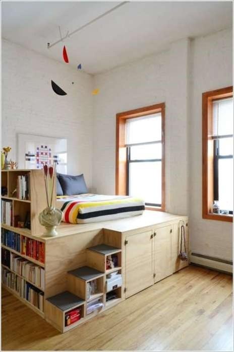 Лучшие идеи оптимизации пространства для маленькой квартиры