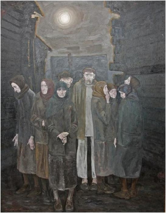 Чернобыль: техногенная катастрофа на картинах художников