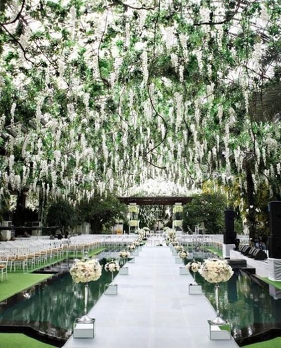Идеи декора свадебной беседки: 29 ярких примеров!