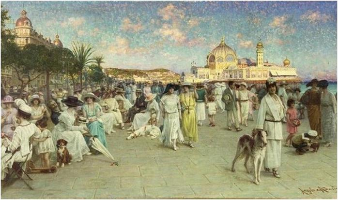 На каких курортах отдыхали первые русские туристы