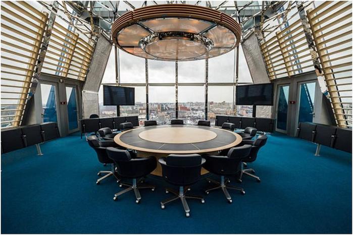 Один день из жизни центрального офиса «Газпрома»