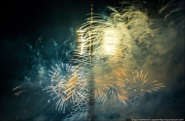 Фееричное открытие фестиваля «Круг света» в Москве