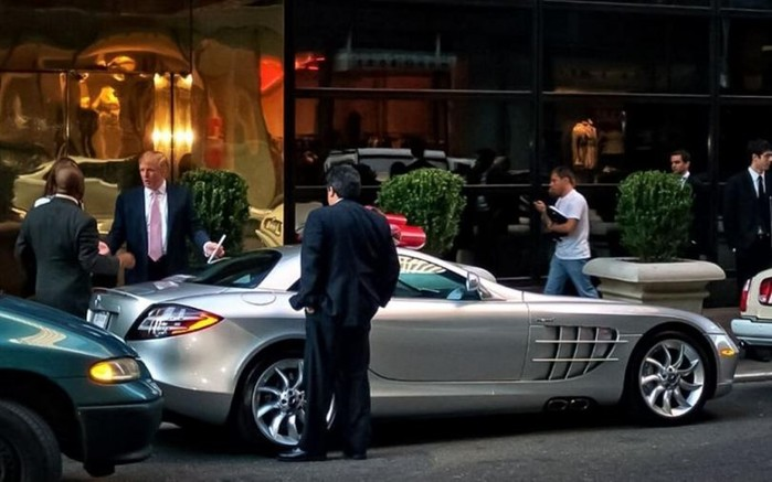 10 лучших автомобилей из гаража Дональда Трампа