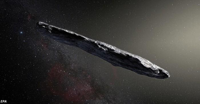 Как в Солнечную систему впервые прилетел астероид из другой галактики