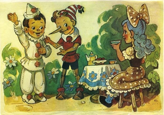 Персонажи советских сказок и их зарубежные оригиналы