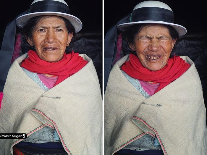 Как меняются лица женщин, когда им говорят, что они красивые