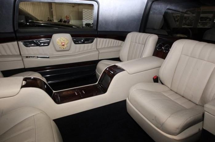 Лимузин Кортеж»— автомобиль для президента России