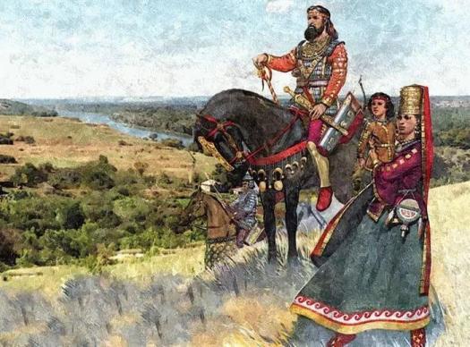 Какие народы пришли на Запад с Урала