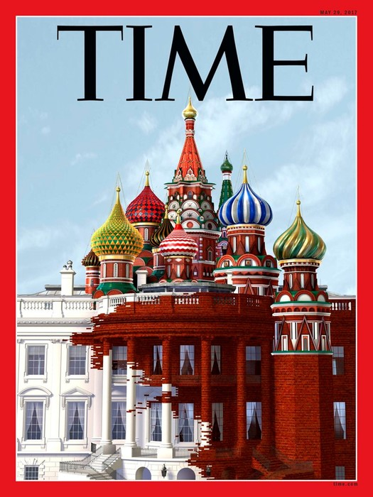 10 обложек зарубежных журналов, посвященных Путину