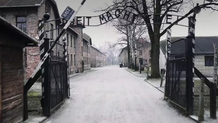 Вид на Освенцим с высоты полета дрона (видео)