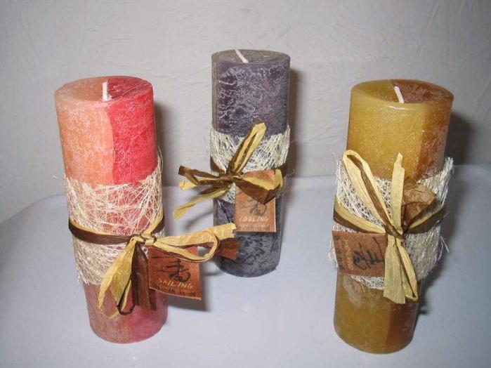 Лайма эфир майын өндіруде пайдалану - шамды өлшеу түсімен кесіңіз