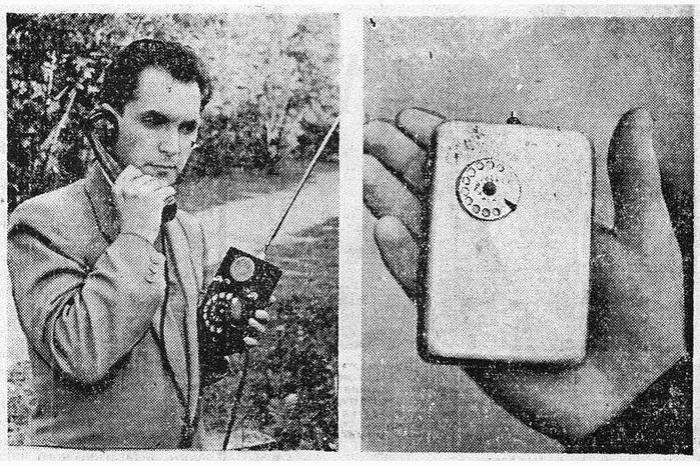 Первый мобильный телефон изобрел советский инженер еще в 1957 году
