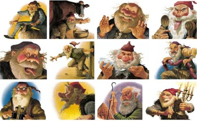7 жутких созданий, которые приходят на Рождество к плохим детям