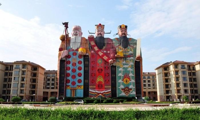20 самых странных китайских зданий