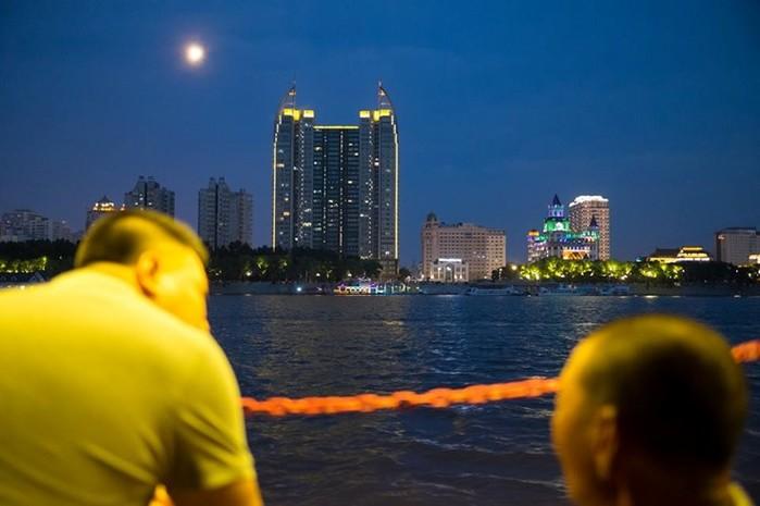 Солнечный остров на реке Сунгари в Китае