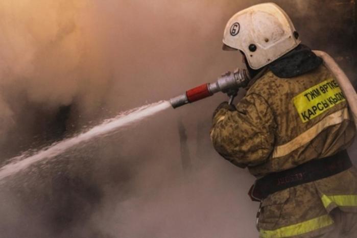 Более 50 человек сгорели в автобусе в Казахстане (видео)