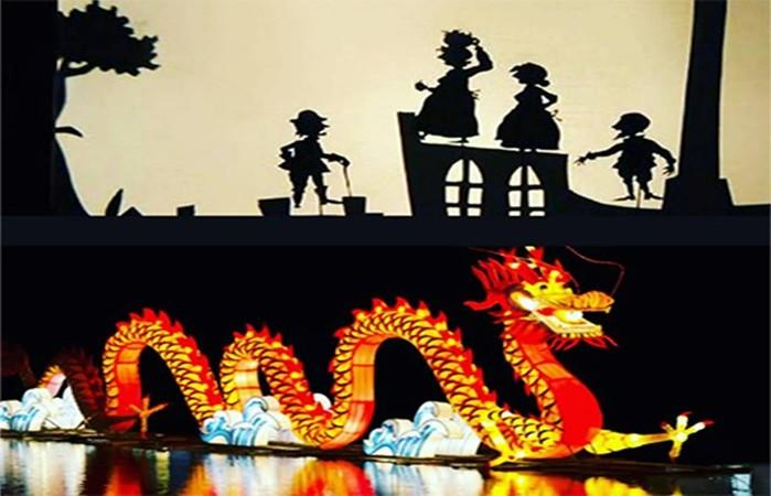 Театр теней в Китае