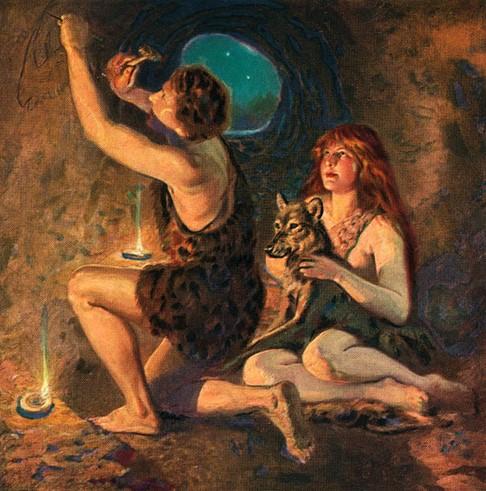 Пещерный человек был не только пещерным?