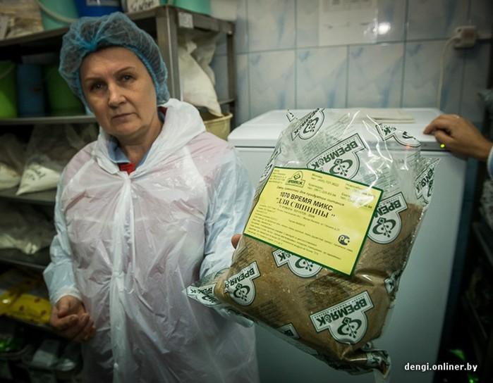 Белорусское производство пельменей на комбинате в Слониме