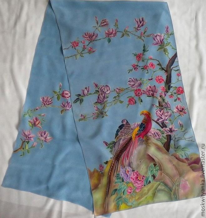 Китайский батик: история самой известной росписи по ткани