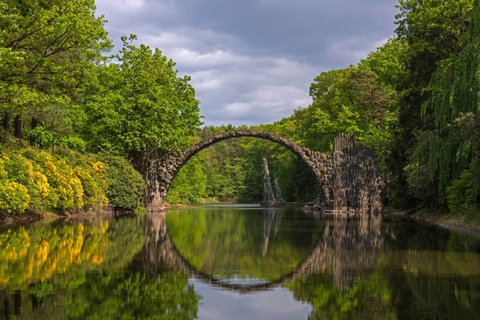 Самые впечатляющие мосты в мире: фотографии