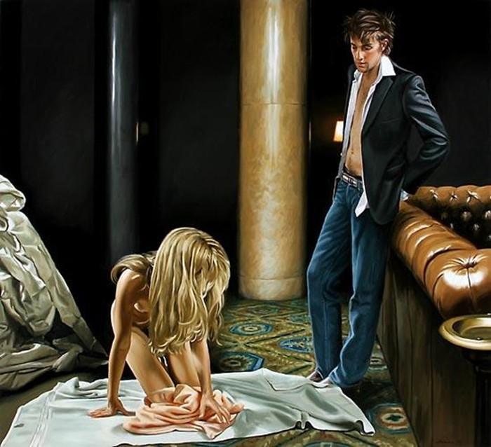 Художник Терри Роджерс: «певец сладкой жизни»