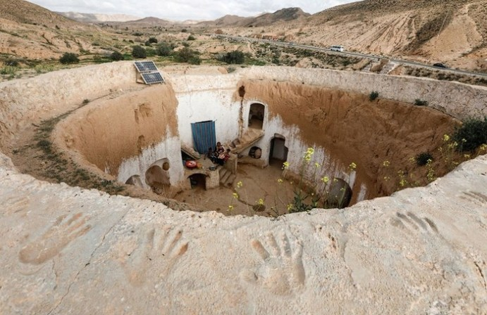 Город Матмата: необычные подземные дома Туниса, прославленные в «Звездных войнах»