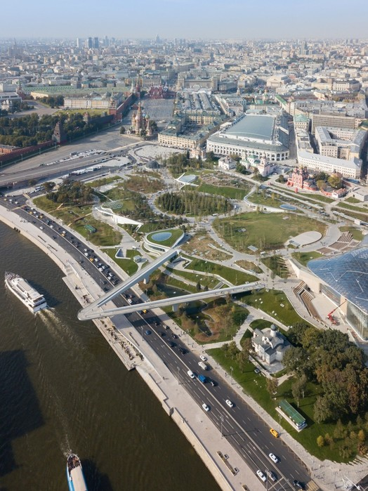 Парк «Зарядье» в Москве: фотографии прогулки