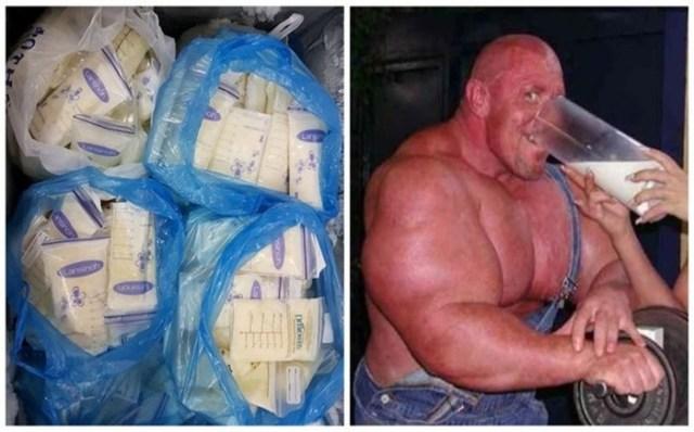 Кормящая мать продает грудное молоко бодибилдерам в интернете