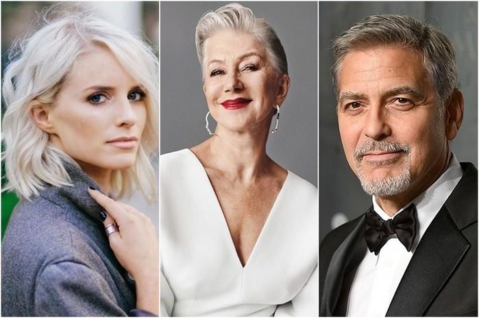 14 знаменитостей, которых не портит седина