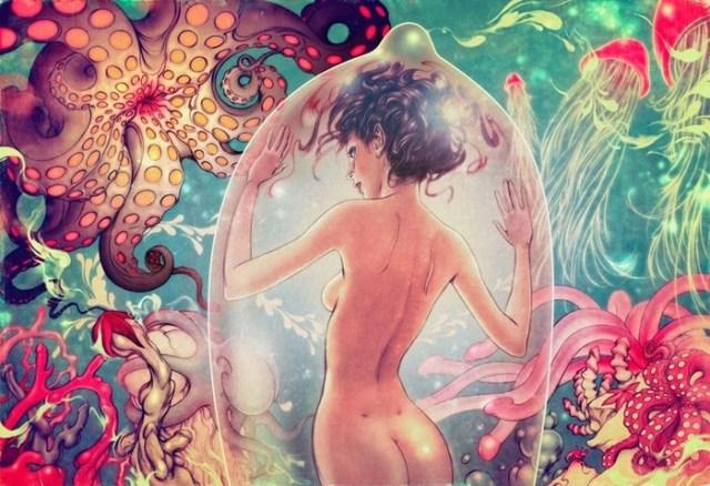 Запредельные фантазии: картины непревзойдённого Джеймса Джина