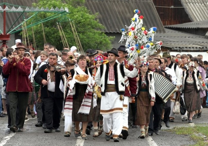 Малые славянские народы в Закарпатье, Германии, Италии и других странах