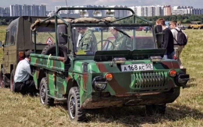 Самые невероятные советские автомобили