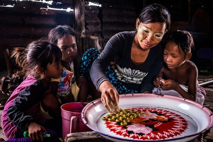 Удивительная жизнь «морских цыган» баджо на фотографиях Клаудио Зибера