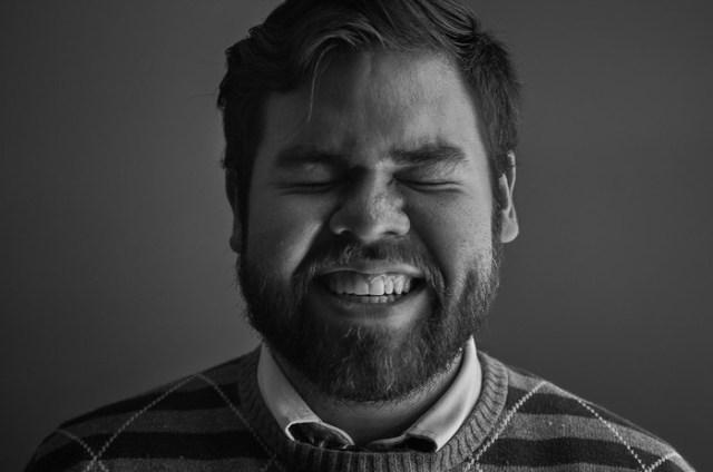 Серия «Нагие портреты», на которых обнажены не модели, а сам фотограф