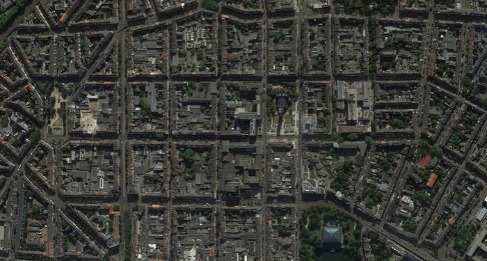 Германия из космоса: виртуальный тур с Google Планета Земля