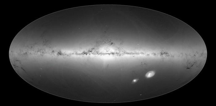 У человечества есть самая точная и подробная звездная карта Млечного Пути