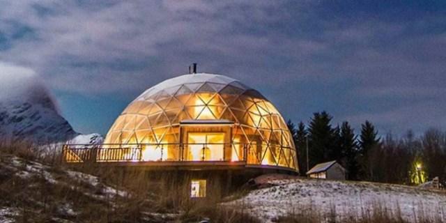 Семья построила теплый дом за Полярным кругом
