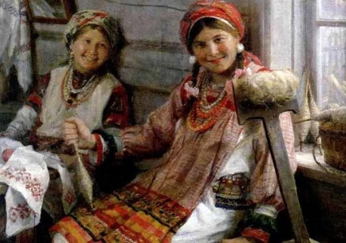 Как на Руси проходили посиделки молодежи и зачем отрезали косу