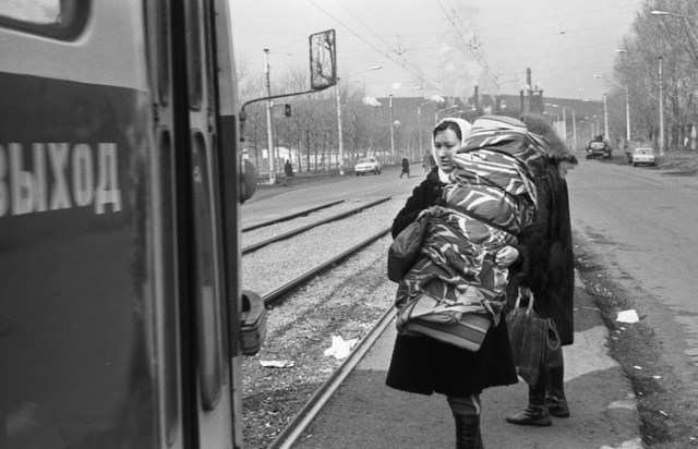 Социалистическая реальность в документальных фотографиях Владимира Воробьева