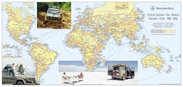 Немец Гюнтер Хольторф совершил 22 кругосветных путешествия