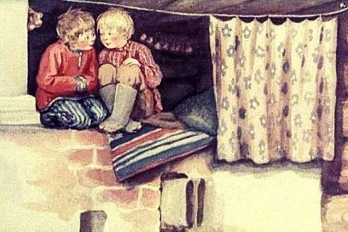 Что заменяло кровать русским крестьянам