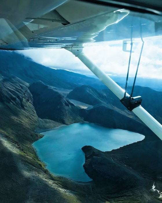 Девушка пилот из Новой Зеландии покоряет Инстаграм красивыми пейзажами
