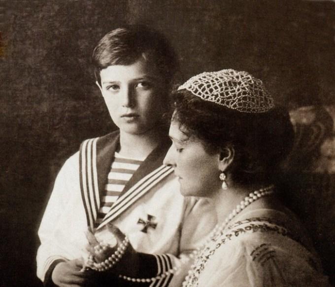 Кормилицы при российской императорской семье