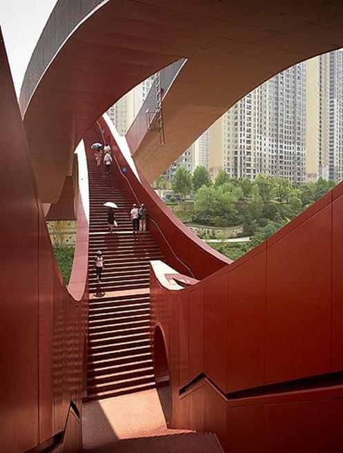 Мост «Узел удачи» в китайском городе Чанша
