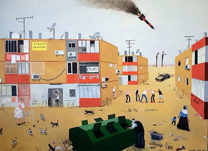 Художница Зоя Черкасская с юмором рисует воспоминания из советского детства