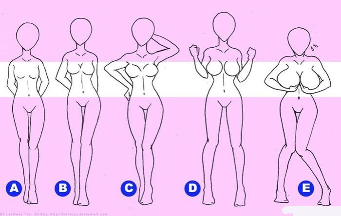 Как зависит темперамент от размера женской груди